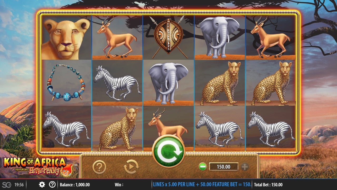 King of Africa :: Main Game Board