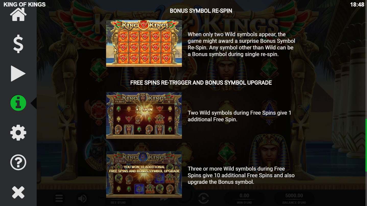 King of Kings :: Feature Rules