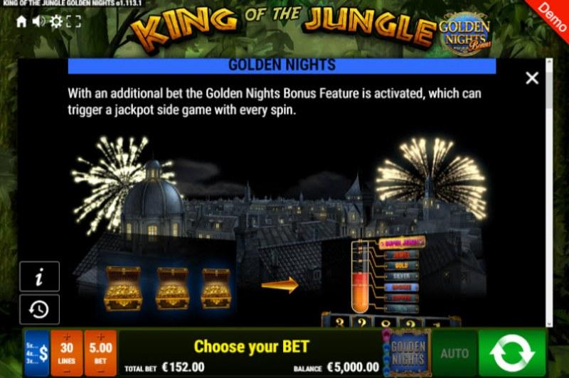 King of the Jungle Golden Nights Bonus :: Golden Nights Bonus