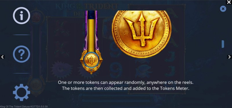 King of the Trident Deluxe :: Golden Tokens