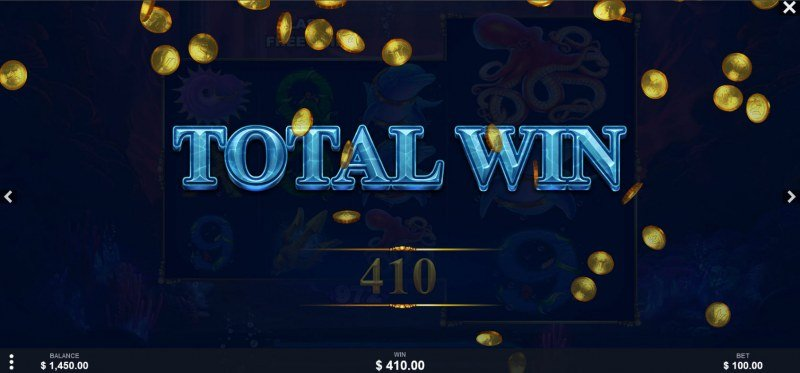 King of the Trident Deluxe :: Total Free Spins Payout