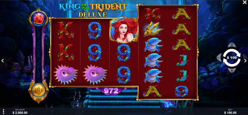 King of the Trident Deluxe :: Main Game Board