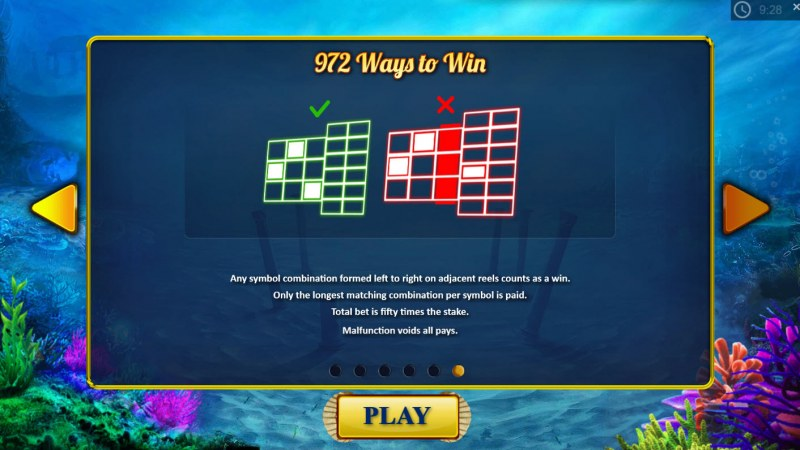 King of the Trident :: 972 Ways to Win