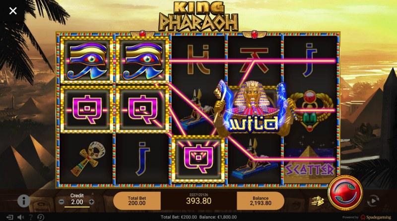 King Pharaoh :: Multiple winning paylines