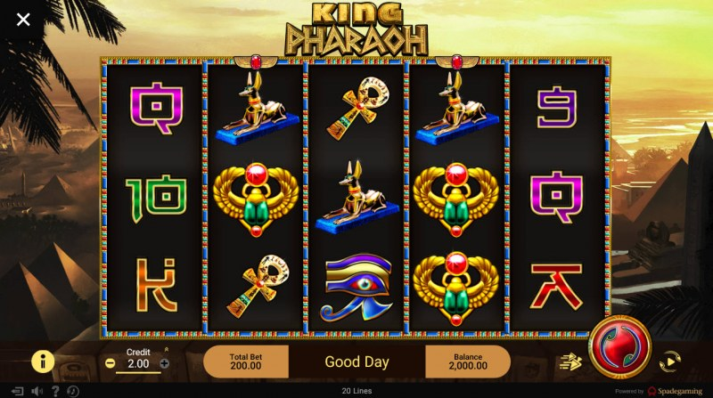 King Pharaoh :: Main Game Board