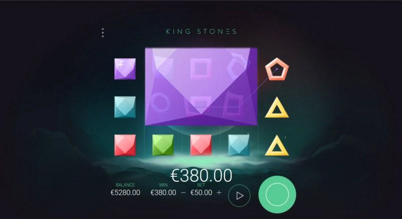 King Stones :: Multiple winning paylines