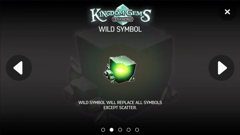 Kingdom Gems Diamond :: Wild Symbols Rules