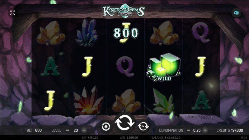 Kingdom Gems Diamond :: Five of a kind