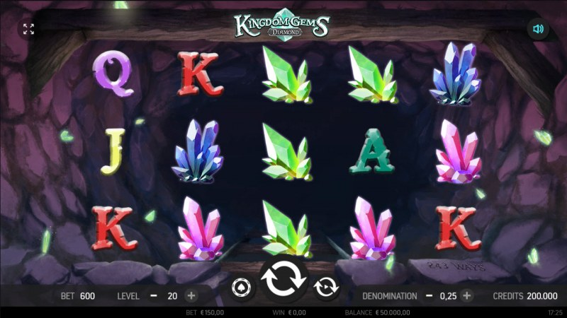 Kingdom Gems Diamond :: Main Game Board