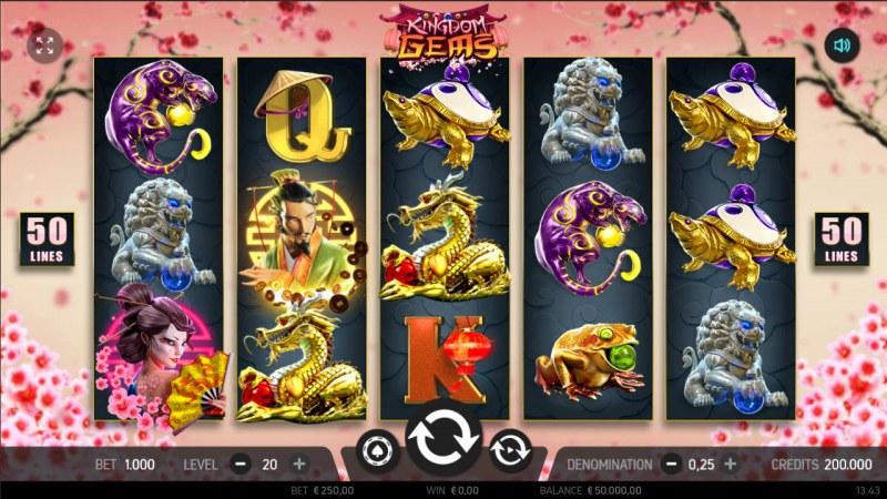 Kingdom Gems :: Main Game Board