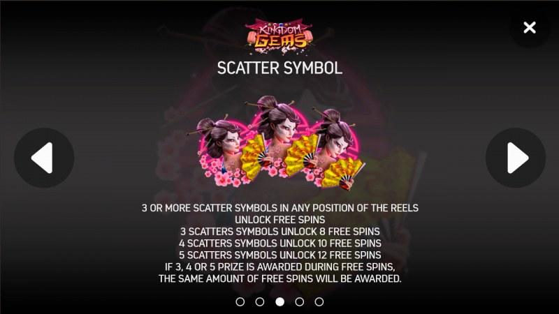 Kingdom Gems :: Scatter Symbol Rules