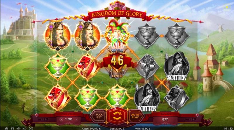 Kingdom of Glory :: Multiple winning paylines
