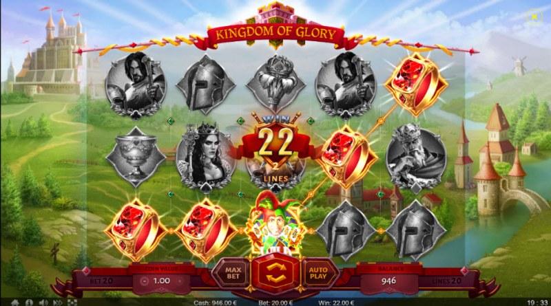 Kingdom of Glory :: A five of a kind win