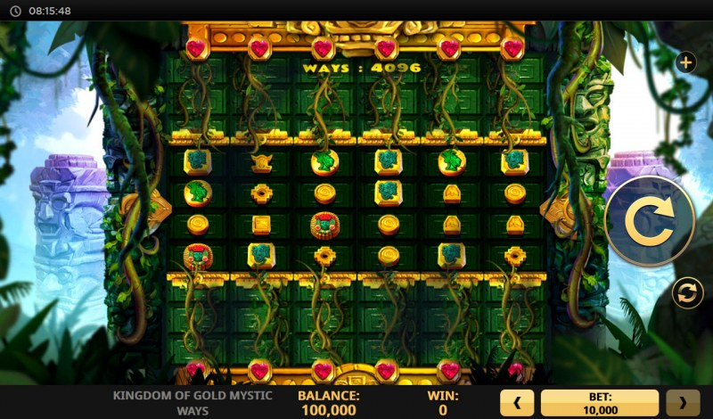 Kingdom of Gold Mystic Ways :: Main Game Board
