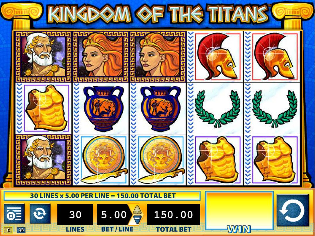 Kingdom of the Titans :: Main Game Board