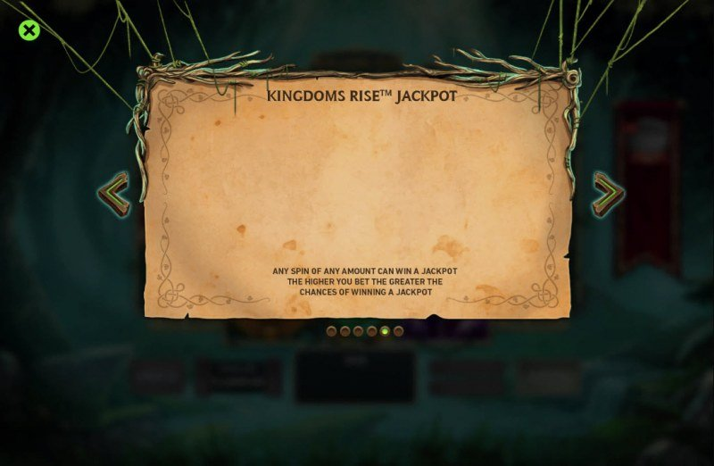 Kingdom Rise Forbidden Forest :: Jackpot Rules