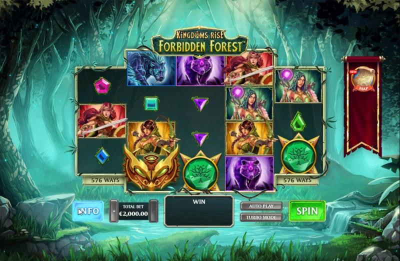 Kingdom Rise Forbidden Forest :: Main Game Board