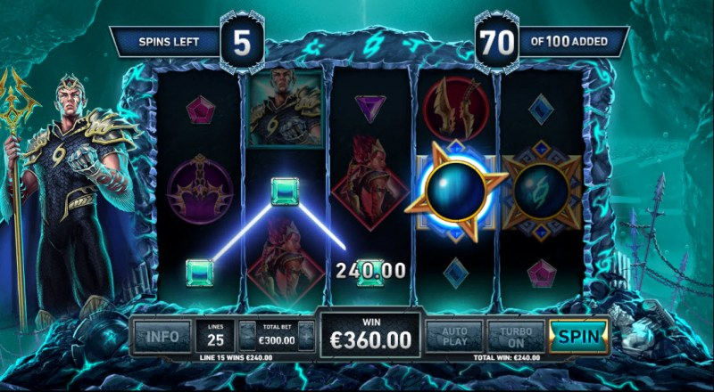 Kingdom Rise Guardians of the Abyss :: A four of a kind win