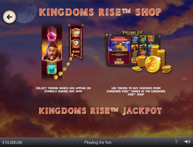 Kingdoms Rise Captain's Treasure :: Feature Rules