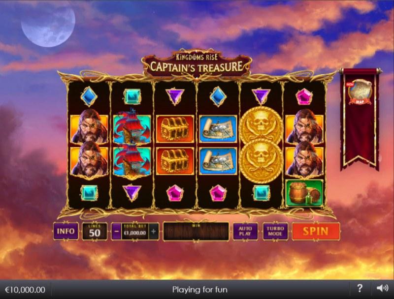 Kingdoms Rise Captain's Treasure :: Main Game Board
