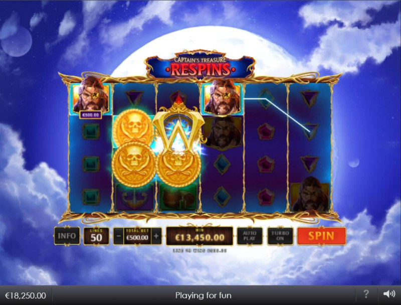 Kingdoms Rise Captain's Treasure :: Multiple winning combinations
