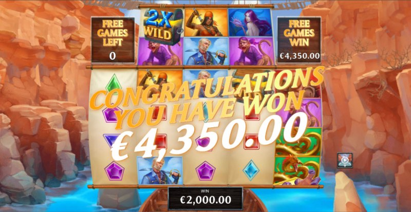 Kingdoms Rise Chasm of Fear :: Total Free Spins Payout