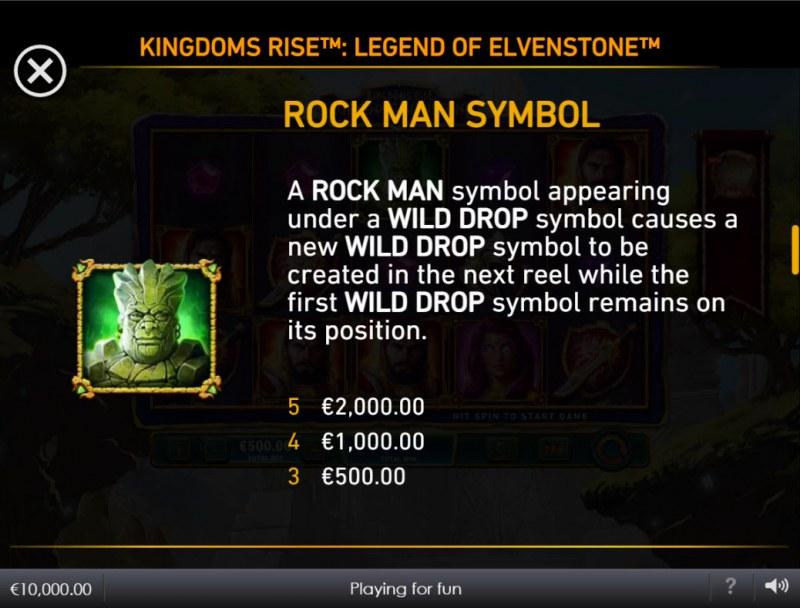 Kingdoms Rise Legend of Elvenstone :: Rock Man Symbol