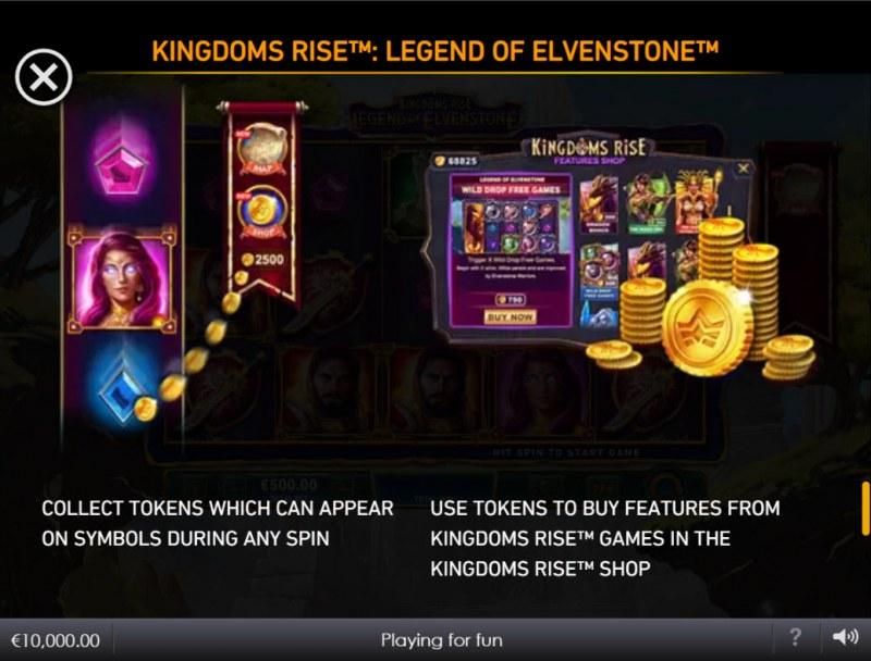Kingdoms Rise Legend of Elvenstone :: Token Feature