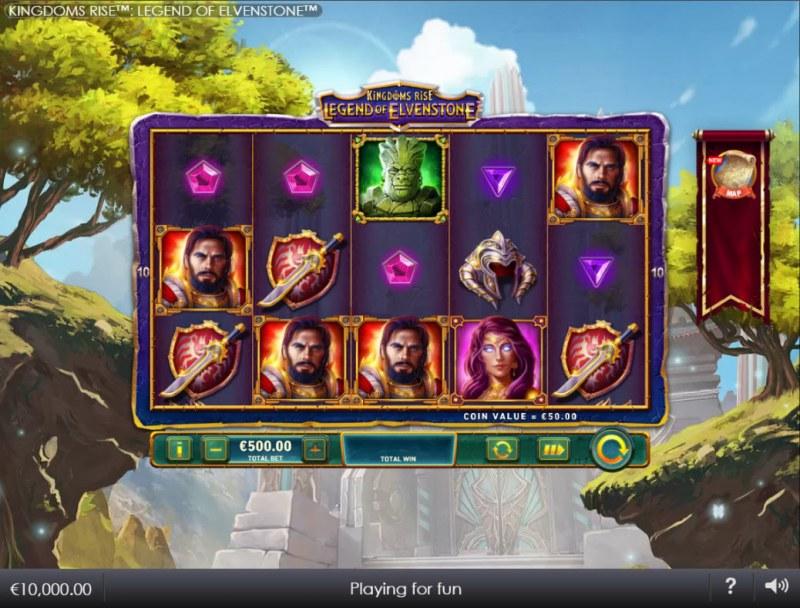Kingdoms Rise Legend of Elvenstone :: Main Game Board