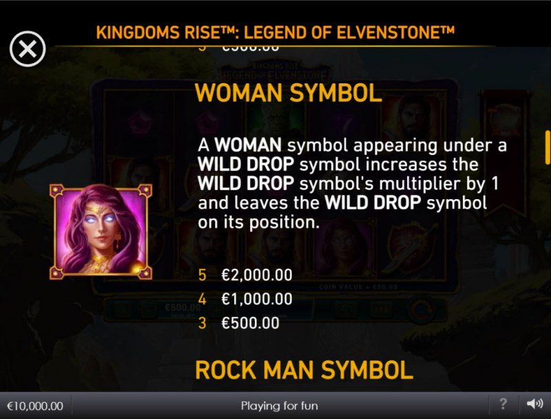 Kingdoms Rise Legend of Elvenstone :: Woman Symbol