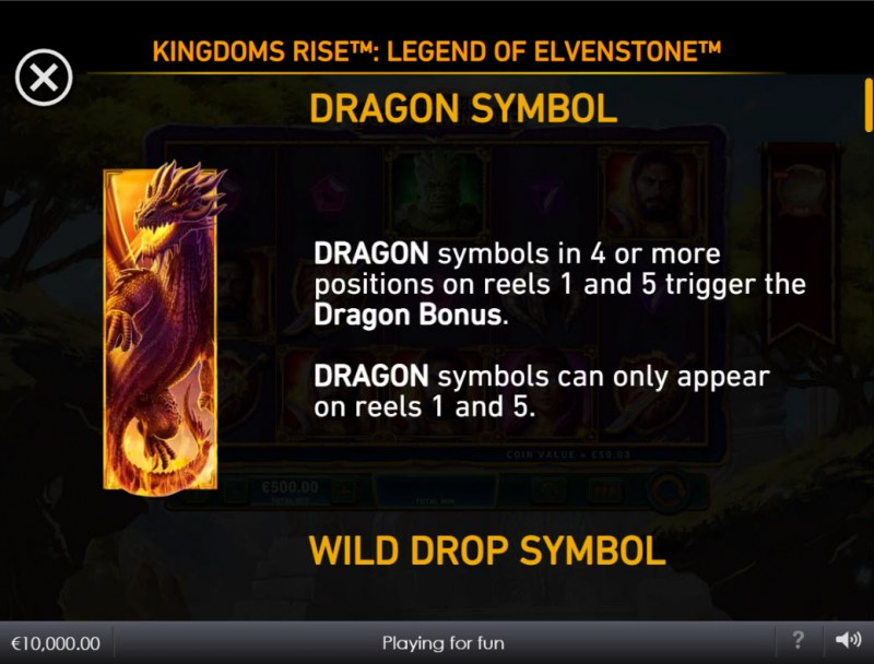 Kingdoms Rise Legend of Elvenstone :: Dragon Symbol