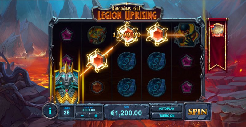 Kingdoms Rise Legion Uprising :: A four of a kind win
