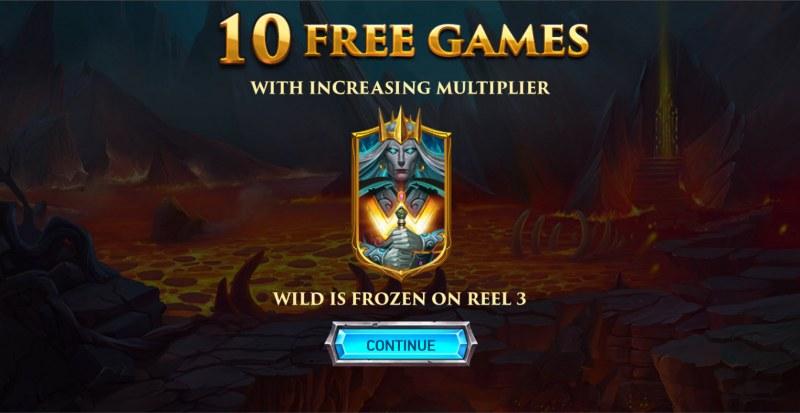 Kingdoms Rise Legion Uprising :: 10 free spins awarded