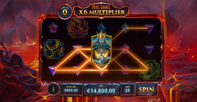Kingdoms Rise Legion Uprising :: Multiple winning paylines