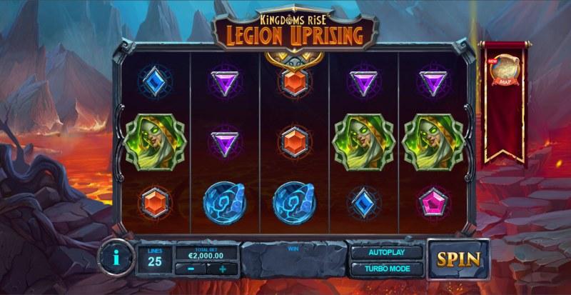 Kingdoms Rise Legion Uprising :: Main Game Board