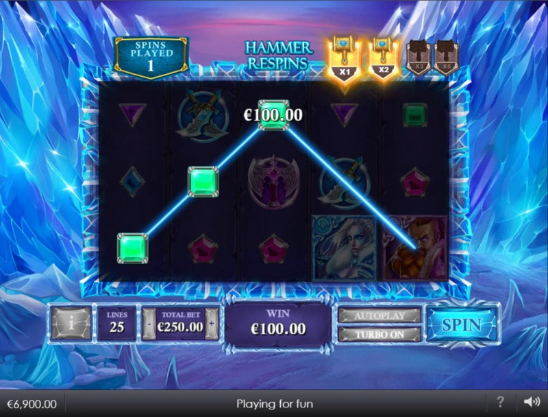 Kingdoms Rise Reign of Ice :: Hammer Respins Activated