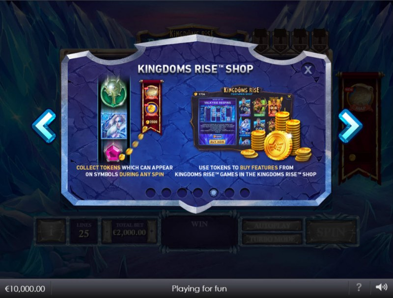 Kingdoms Rise Reign of Ice :: Feature Rules