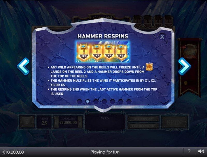 Kingdoms Rise Reign of Ice :: Hammer Respins