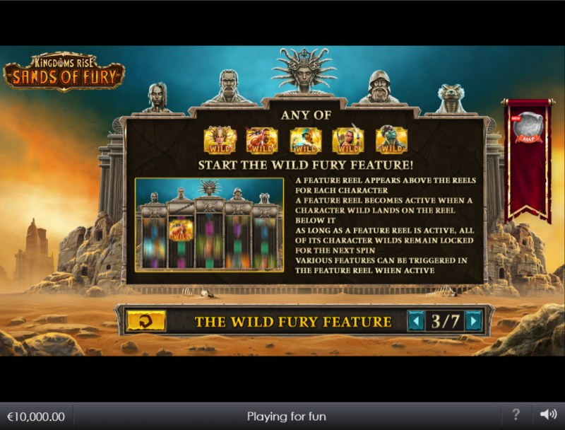 Kingdoms Rise Sands of Fury :: Wild Fury Feature