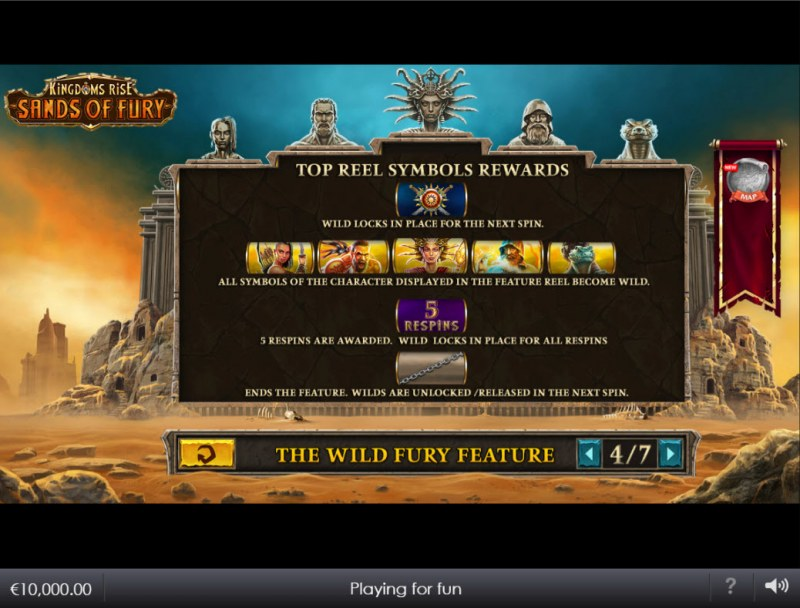Kingdoms Rise Sands of Fury :: Feature Rules