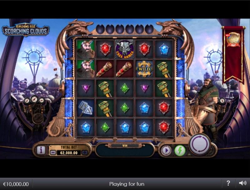 Kingdoms Rise Scorching Clouds :: Main Game Board