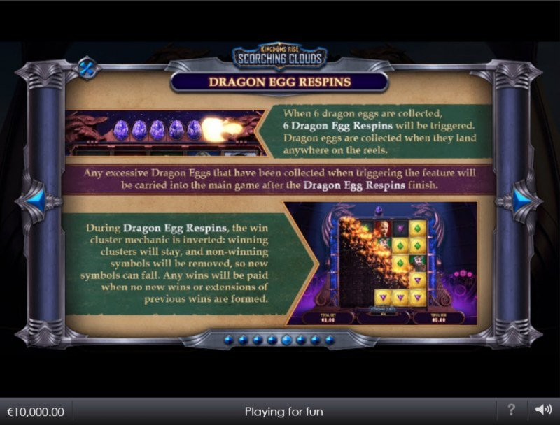 Kingdoms Rise Scorching Clouds :: Dragon Egg Respins