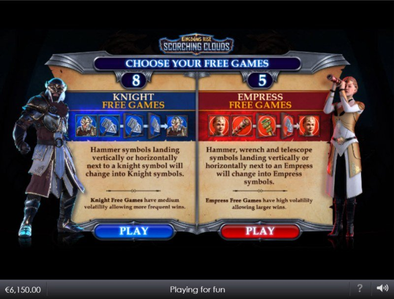 Kingdoms Rise Scorching Clouds :: Choose your free games