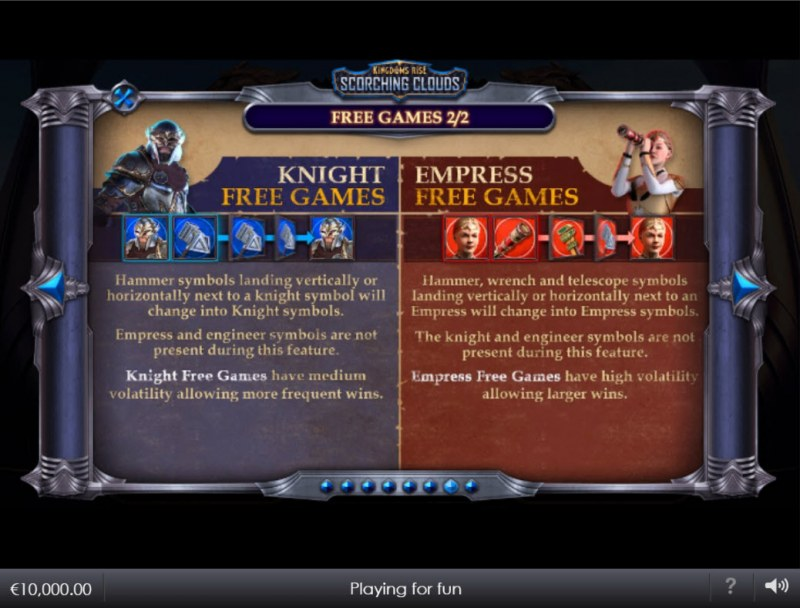 Kingdoms Rise Scorching Clouds :: Free Game Rules