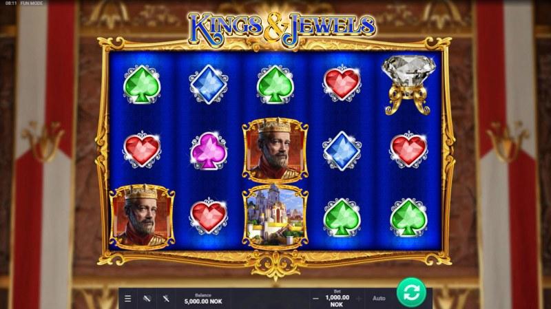Kings & Jewels :: Base Game Screen