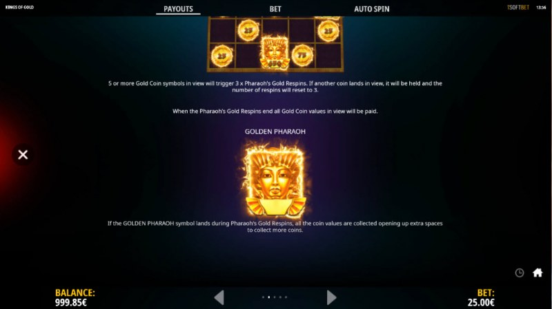 Kings of Gold :: Feature Rules