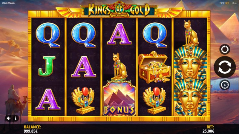 Kings of Gold :: Main Game Board