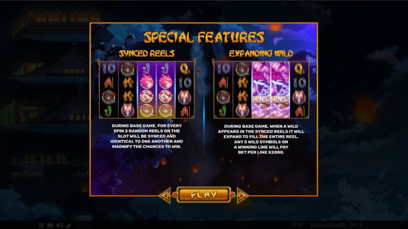 Kitsune's Scrolls :: Special Features