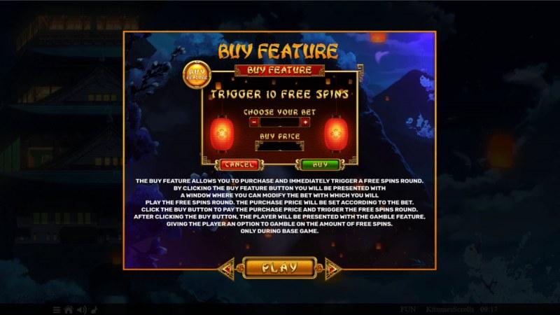 Kitsune's Scrolls :: Buy Feature