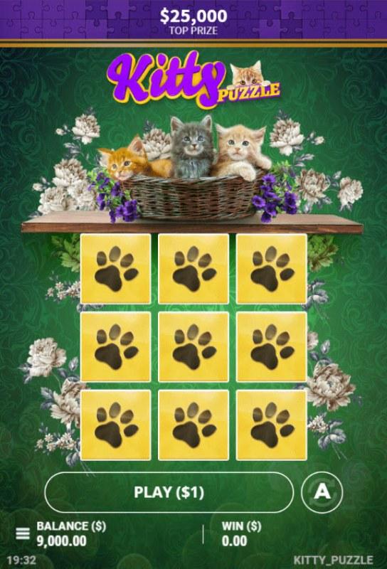 Kitty Puzzle :: Main Game Board